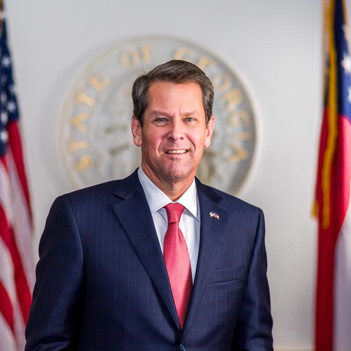 Georgia Governor Brian Kemp